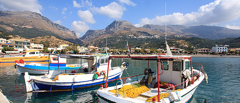 Taxi transfer to Plakias village in Crete
